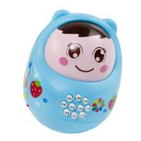 女婴玩具0到12个月 大号带音乐女婴儿不倒翁适合三四个月宝宝的玩具到五男6