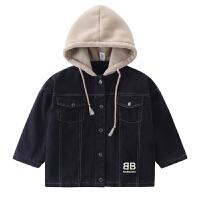 儿童外套2018秋冬新款韩版中大童夹克加厚上衣男孩