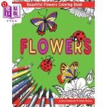 【中商海外直订】Beautiful Flowers With Ladybugs And Butterflies Col