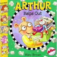 Arthur Helps Out 亚瑟小子助人为乐(亚瑟小子图画故事书) ISBN 0316057721