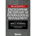 【预订】The Blackwell Encyclopedic Dictionary of International