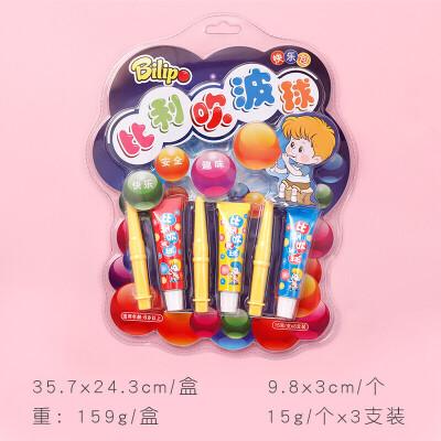吹不破的泡泡 球吹不破的泡泡胶 超大安全童年七彩吹泡泡玩具