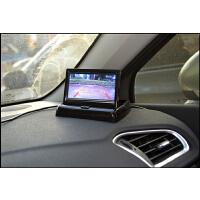 4.3寸折叠显示器 车载液晶高清屏 智能显示两路视频输入 倒车优先