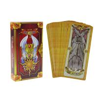 COS日本原TV版百变小樱塔罗牌魔术卡魔卡少女小樱库洛牌占卜塔罗牌卡通周边