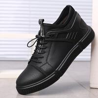 宜驰 EGCHI 休闲皮鞋子男士户外运动舒适潮流耐磨轻质鞋子男 K5828