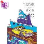 【中商海外直订】Tugboats and Taxis of NYC