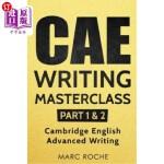 【中商海外直订】CAE Writing Masterclass (Parts 1 & 2) Cambridge Eng