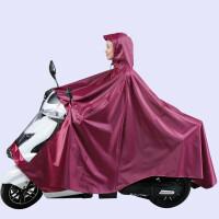 摩托车雨披 特大号 防水骑行电动车雨衣摩托车单双人雨披加大加厚男装 XXXXL