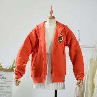 【冰点直降】1.2斤 k¥8 韩版秋季长袖潮流原宿短外套时尚卫衣女
