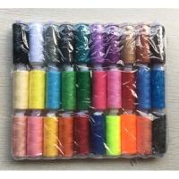 手缝线拼布线 缝纫机专用线优质出口缝纫线 402涤纶线细线