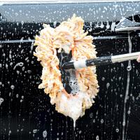 洗车拖把长柄伸缩式除尘掸子汽车擦车刷家用工具套装