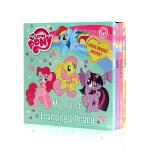 小马宝莉4册纸板 Little Pony ABC 123 colours shapes 进口英文原版绘本 少儿英语基础