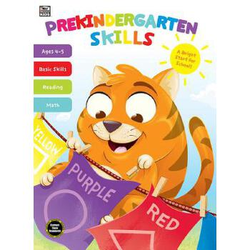 【预订】Prekindergarten Skills 预订商品,需要1-3个月发货,非质量问题不接受退换货。
