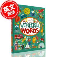 现货 神奇世界 我的赤脚大书 英文原版 My Big Barefoot Book of Wonderful Words
