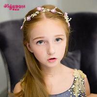 六一儿童节皇冠儿童发饰花环 女童头饰公主发箍拍照写真女孩头饰