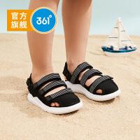 【1件4折到手价:95.6】361度童鞋 男童沙滩凉鞋 小童 2020年夏季新品沙滩鞋凉鞋舒适N71924601