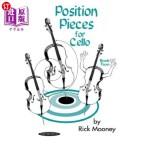 【中商海外直订】Position Pieces for Cello, Bk 2