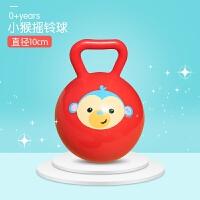 婴儿手抓球宝宝视力训练布球感知抚触滚滚球曼哈顿牙胶玩具球
