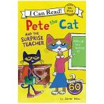【My First I Can Read】Pete the Cat 皮特猫和惊喜老师 英文原版进口童书 3-6岁低幼儿