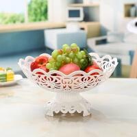 带底座多层水果篮欧式果盘现代客厅三层水果盘创意时尚干果点心盘