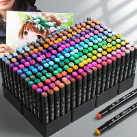 马克笔套装touch正品学生双头80色初学者60色动漫小学生正版1000色全套美术生48色24色36色手绘画水彩笔专用