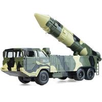 核导弹车3-6-8岁男孩玩具大号军事模型坦克战车防空火箭炮