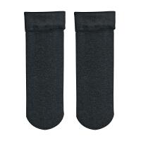 5双秋冬款加厚袜子冬季男士雪地棉袜加绒地板袜保暖睡眠袜中筒袜 5双装(35-48码)