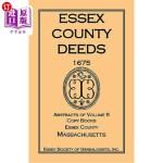 【中商海外直订】Essex County Deeds 1675, Abstracts of Volume 5, Cop