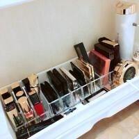 口红收纳 透明亚克力粉饼眼影腮红气垫口红架指甲油桌面整理化妆品收纳盒