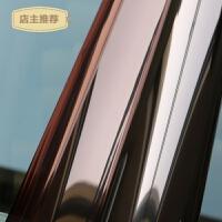 玻璃贴纸玻璃贴膜窗户贴纸玻璃纸窗贴隔热膜防晒遮光膜茶银SN0493