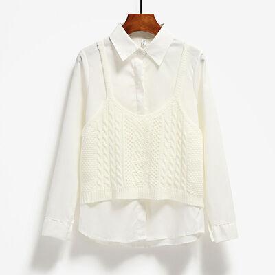 针织小背心女外穿无袖上衣秋冬女士短款毛衣小马甲毛线外搭吊带衫