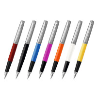 派克(PARKER)乔特系列胶杆钢笔/墨水笔练字用学生商务办公礼品