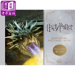 【中商原版】哈利波特周边:哈利波特与火焰杯(明信片)英文原版 Harry Potter and the Goblet