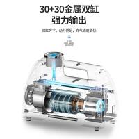 车载充气泵12v双缸汽车轮胎轿车便携式多功能高压打气泵