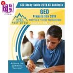 【中商海外直订】GED Study Guide 2019 All Subjects: GED Preparation