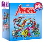 【中商原版】复仇者联盟漫画珍藏版 英文原版 Avengers: Earth's Mightiest Box Set S