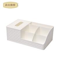 韩国抽屉式化妆品收纳盒创意大号塑料桌面整理盒梳妆台首饰收纳盒SN8227