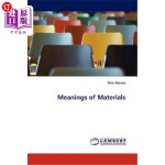 【中商海外直订】Meanings of Materials
