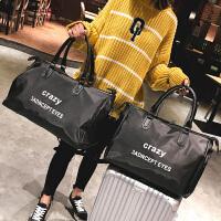 20180825092820378新款时尚旅行包男女大容量手提包长短途轻便旅游包健身包行李大包