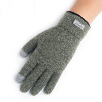 男士冬季手套秋冬天针织毛线触摸屏韩版户外保暖防寒学生骑行开车