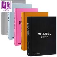 【中商原版】T台秀Catwalk系列5本 英文原版 Prada YSL LV Dior Chanel