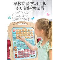 幼儿童画画板磁性支架式家用宝宝学涂鸦写字白板笔无尘画架学习板