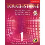 【预订】Touchstone Student's Book 1 [With CDROM and CD]