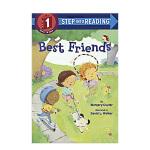 【Step Into Reading 1】Best Friends 最好的朋友 英文原版进口童书 3-6岁低幼儿童英语