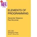 【中商海外直订】Elements of Programming