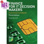 【中商海外直订】Finance for It Decision Makers: A Practical Handboo
