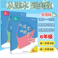 2020版从课本到奥数六年级上册A+B版全套第一学期第三版华东师范大学小学奥数举一反三6年级数学思维训练书同步奥数教程培