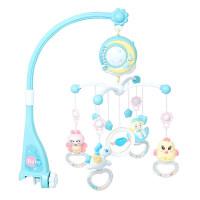 婴儿玩具挂在床上的 新生婴儿床铃音乐旋转男女孩宝宝3-6-12个月安抚床挂玩具床头摇铃