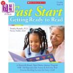 【中商海外直订】Fast Start: Getting Ready to Read: Grades PreK-K [W