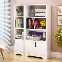 【限时3折】简约现代书架卧室书柜客厅置物架创意隔断置物架子简易书架展示柜